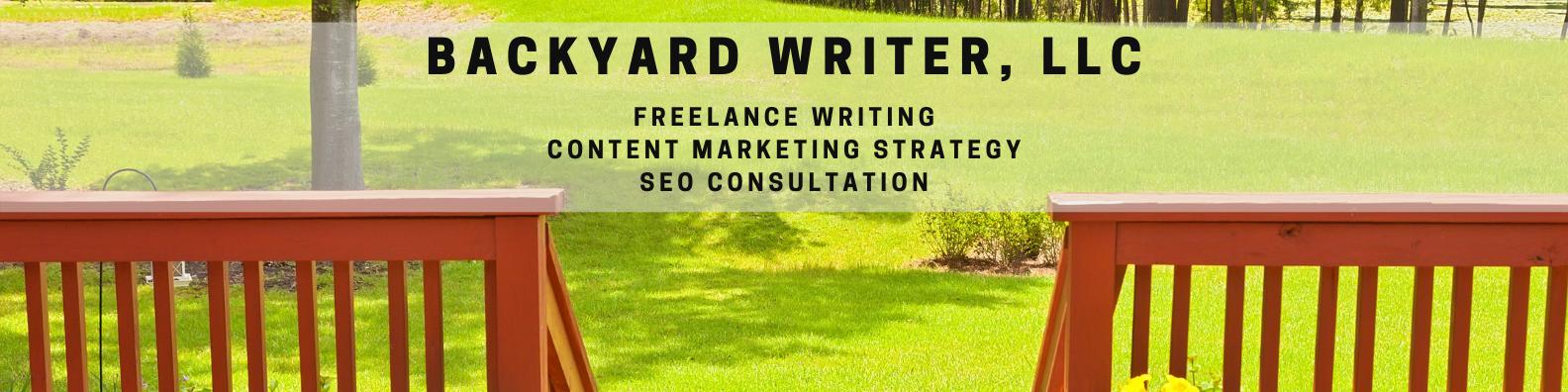 Backyard Writer